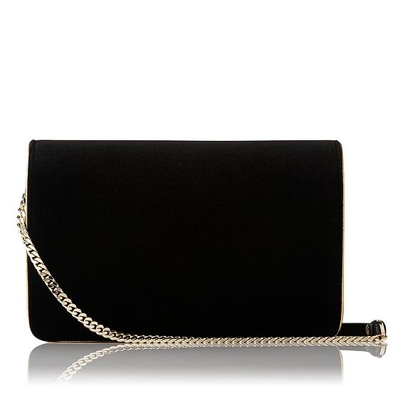 Selena Black Crossbody Bag