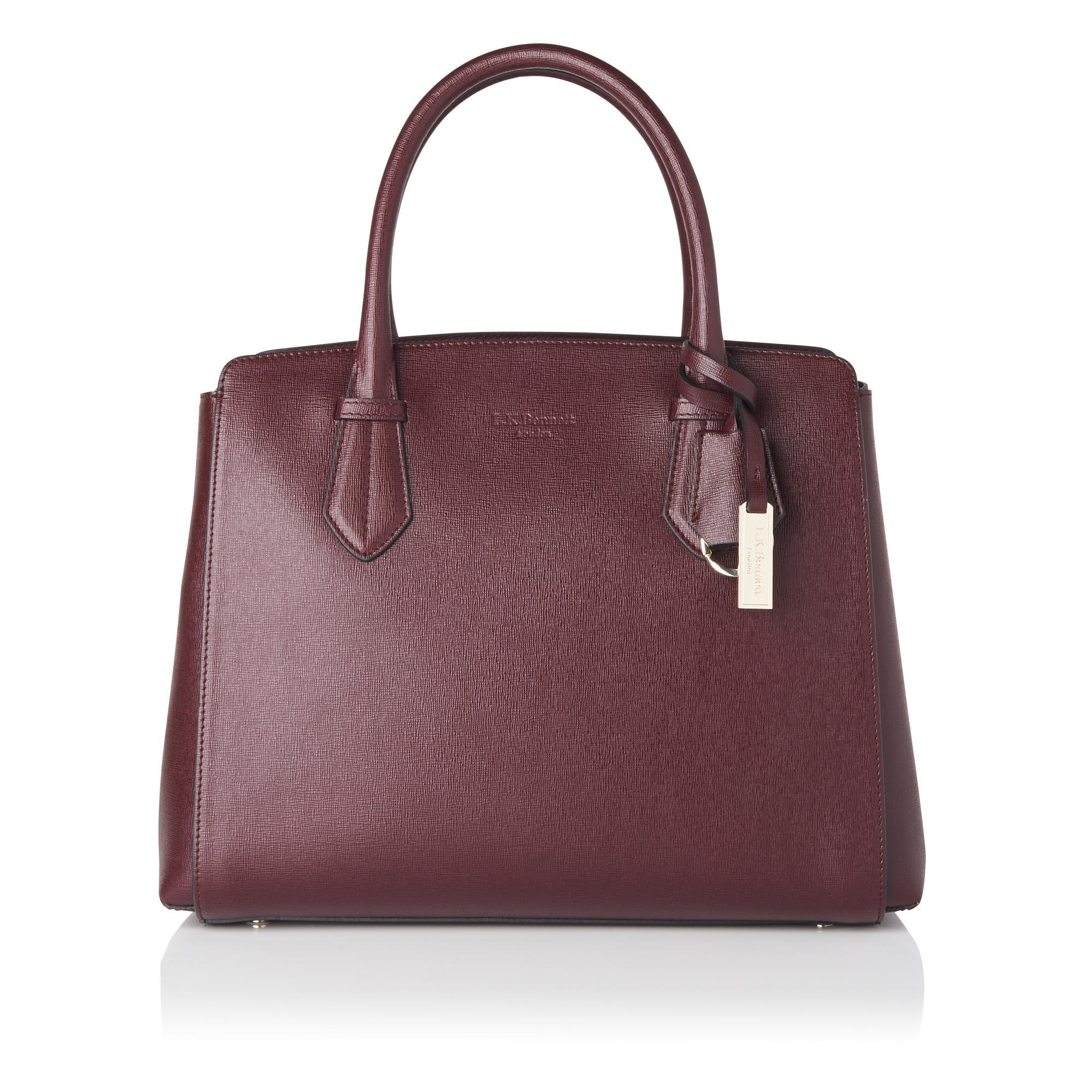 Catrina Oxblood Tote Bag