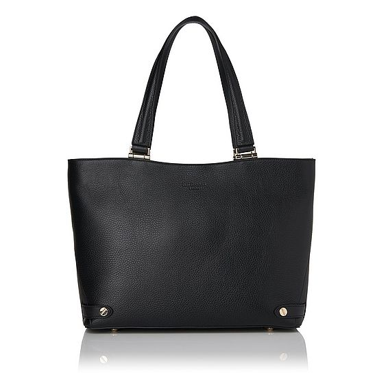 Roberta Black Tote Bag