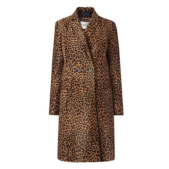Dia Animal Print Coat