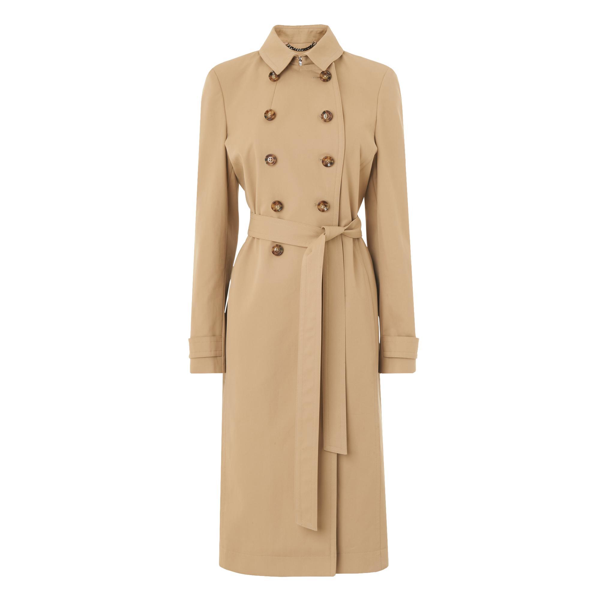 Edie Camel Trench Coat