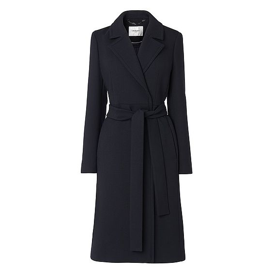 Ekberg Navy Coat