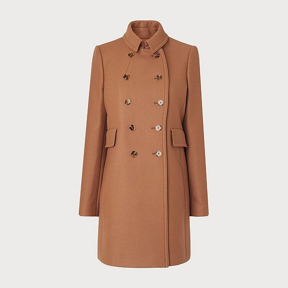 Felli Brown Wool Coat