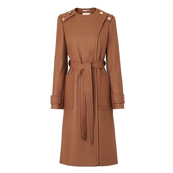 Welma Brown Wool Coat