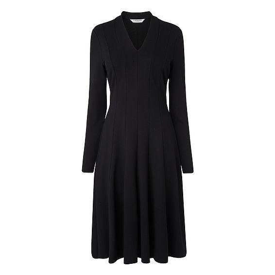 Aviana Black Dress