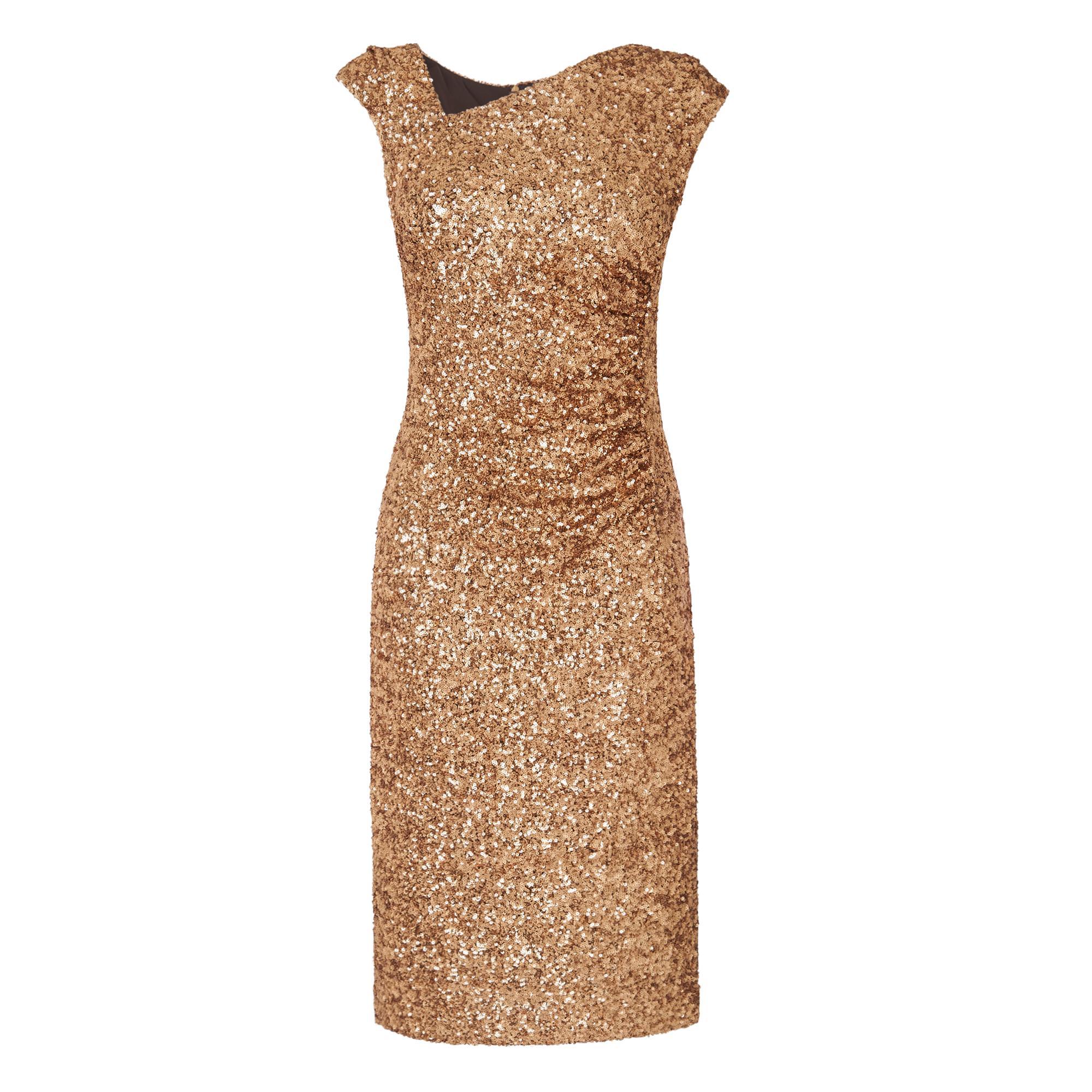 Jazz Gold Sequin Dress
