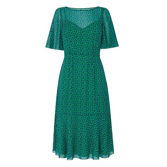 Rudy Green Silk Dress