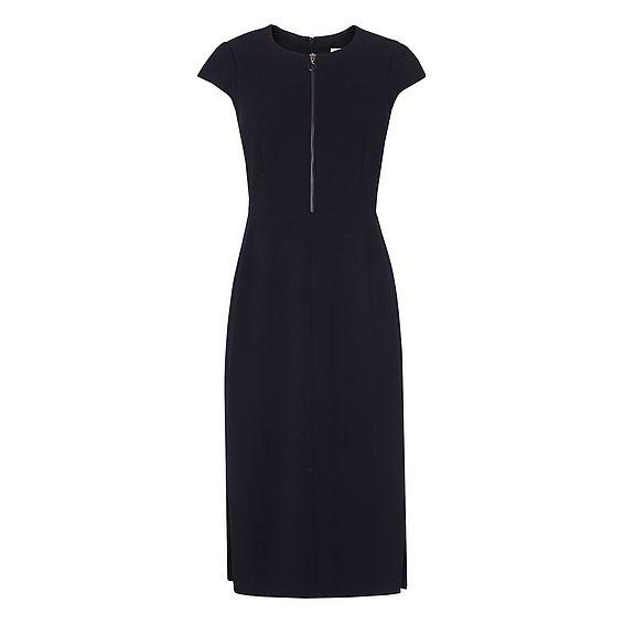 Suzette Navy Dress