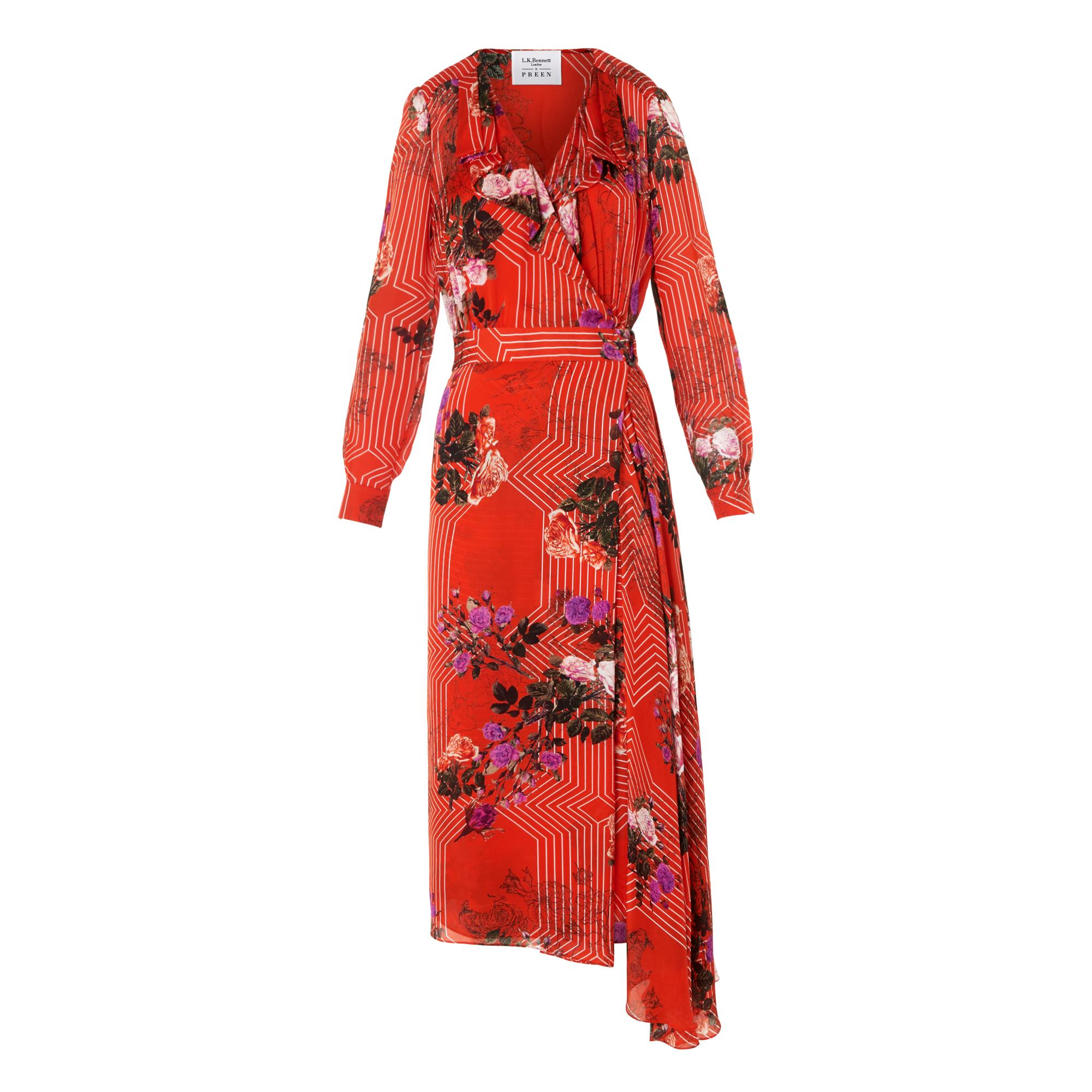 Vali Floral Print Dress