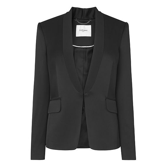 Delaux Black Jacket