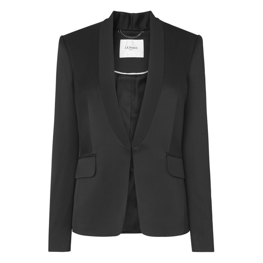 Delaux Black Jacket by L.K.Bennett