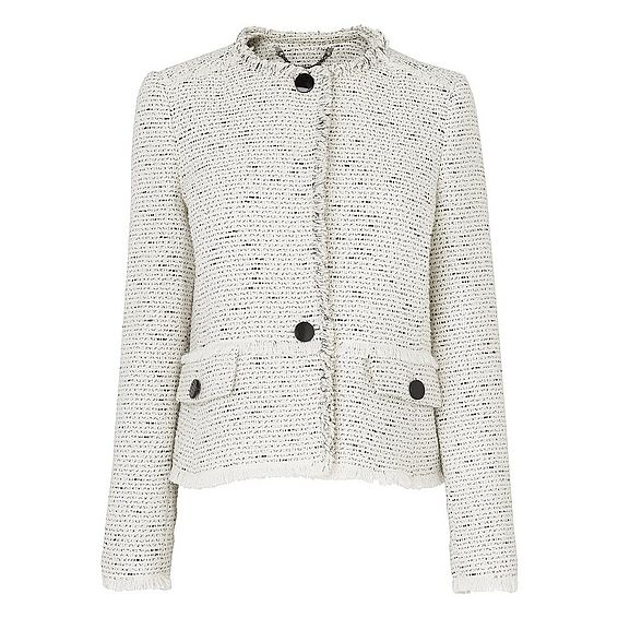 Laurel Cream Tweed Jacket