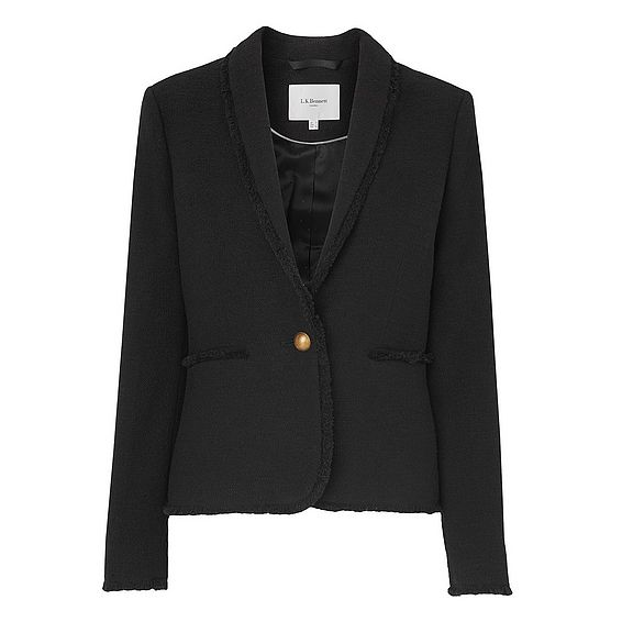 Shippa Black Tweed Jacket
