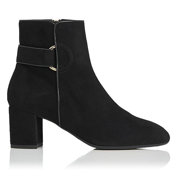 Abi Black Ankle Boot