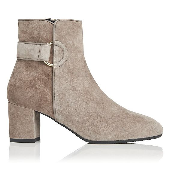 Abi Grey Ankle Boot