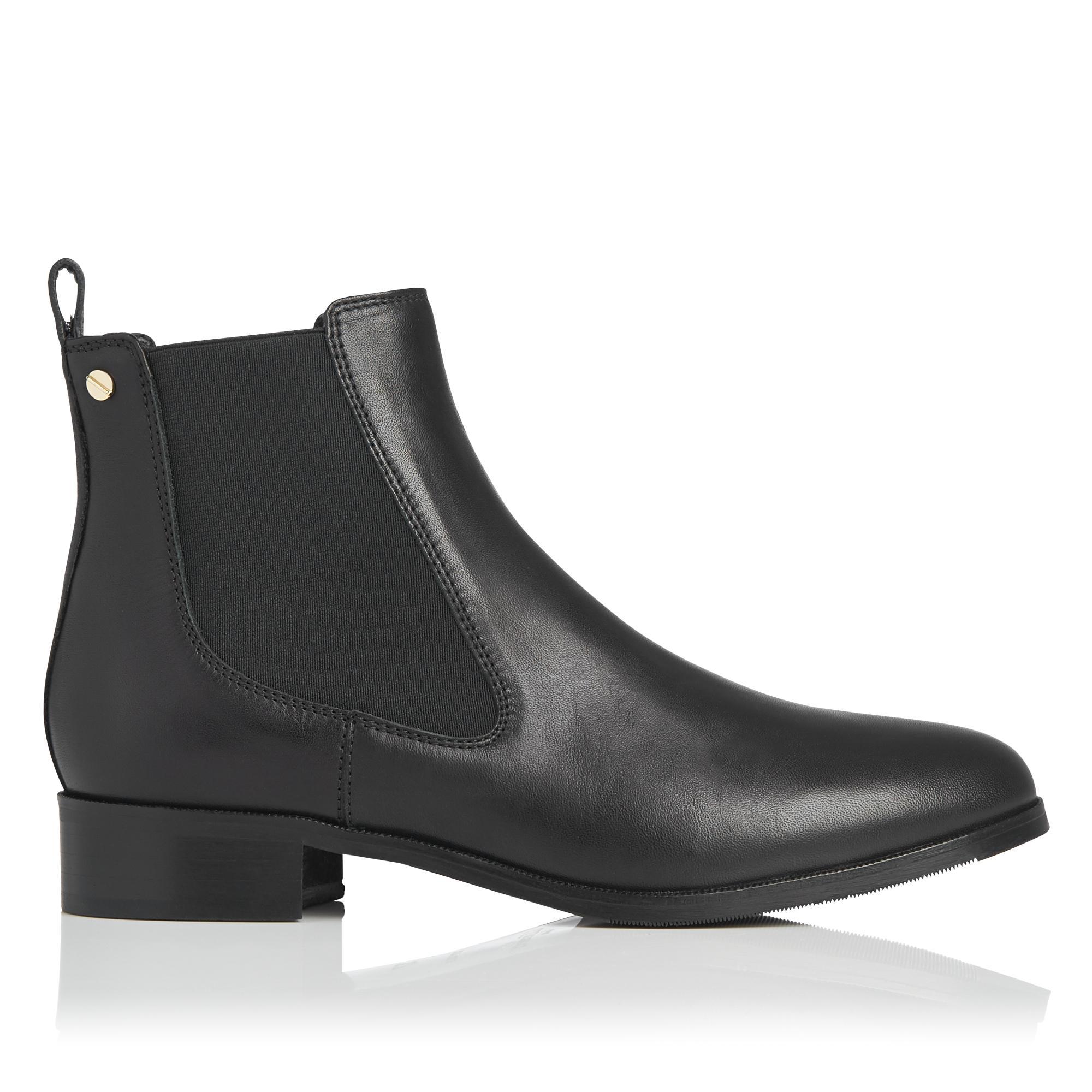Alexia Black Chelsea Boot