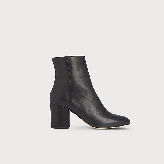 Jourdan Black Ankle Boot