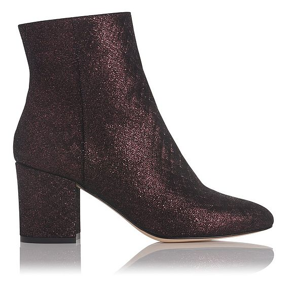 Jourdan Loganberry Metallic Ankle Boot