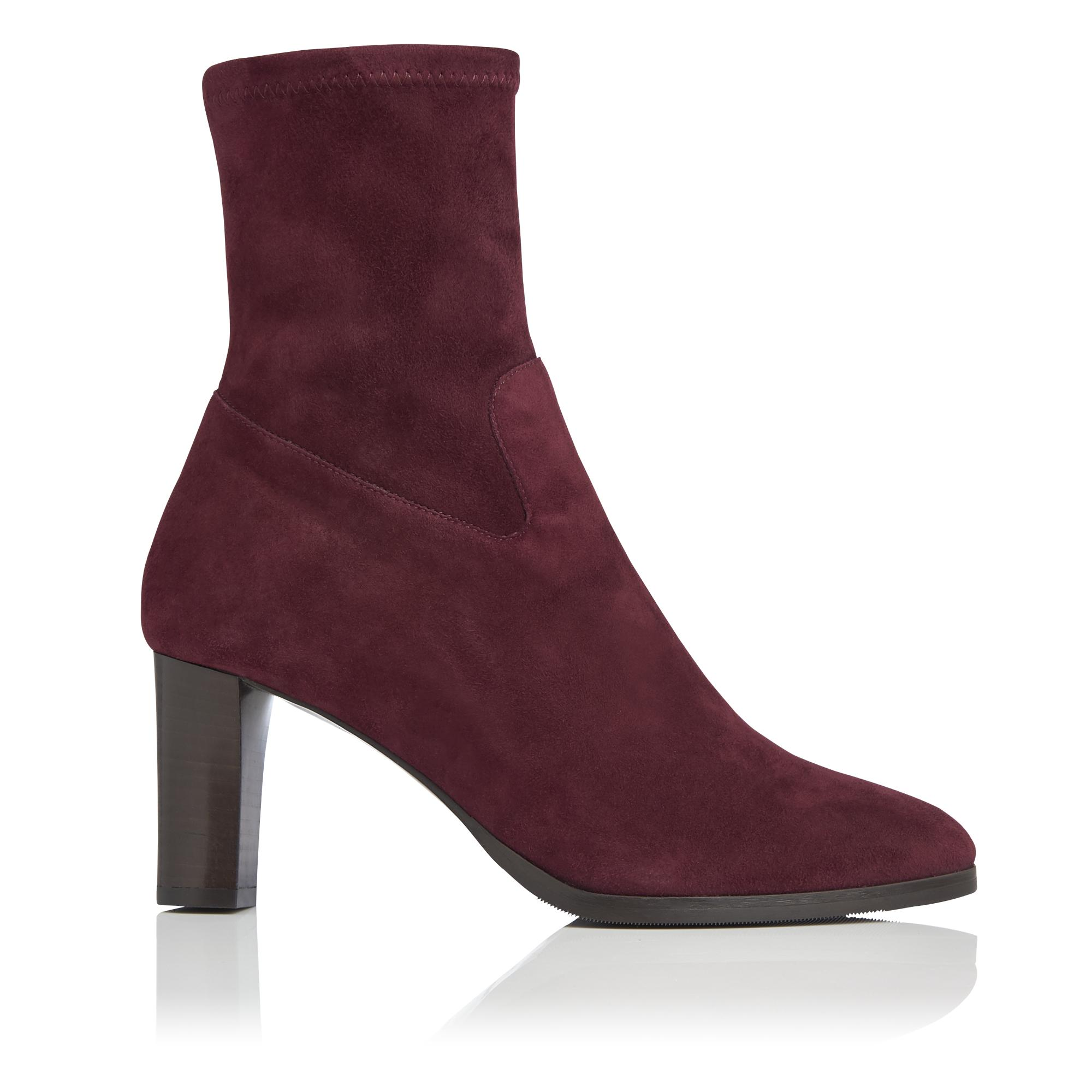 Kayla Oxblood Ankle Boot