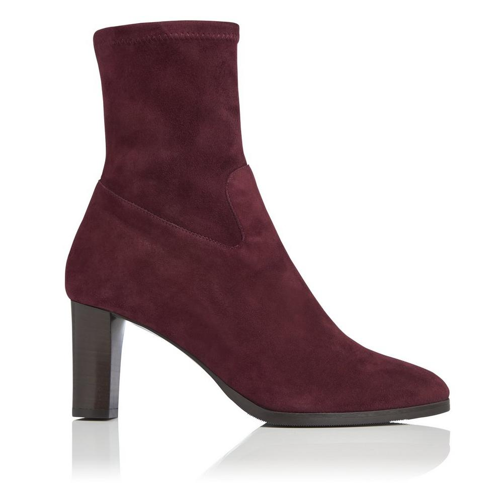 L.K. Bennett Leather Round-Toe Ankle Boots Outlet Store Outlet With Paypal Order Online ru3pvsvTbO