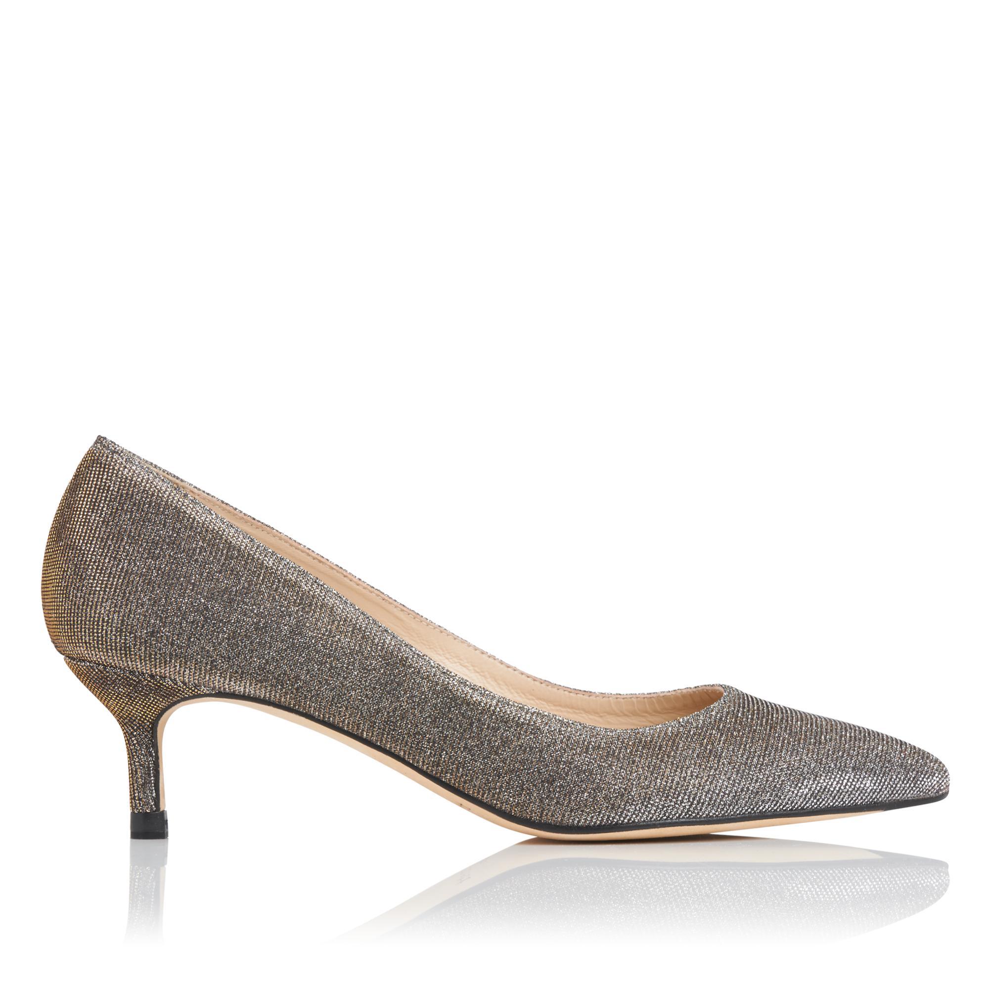 Audrey Metallic Heel