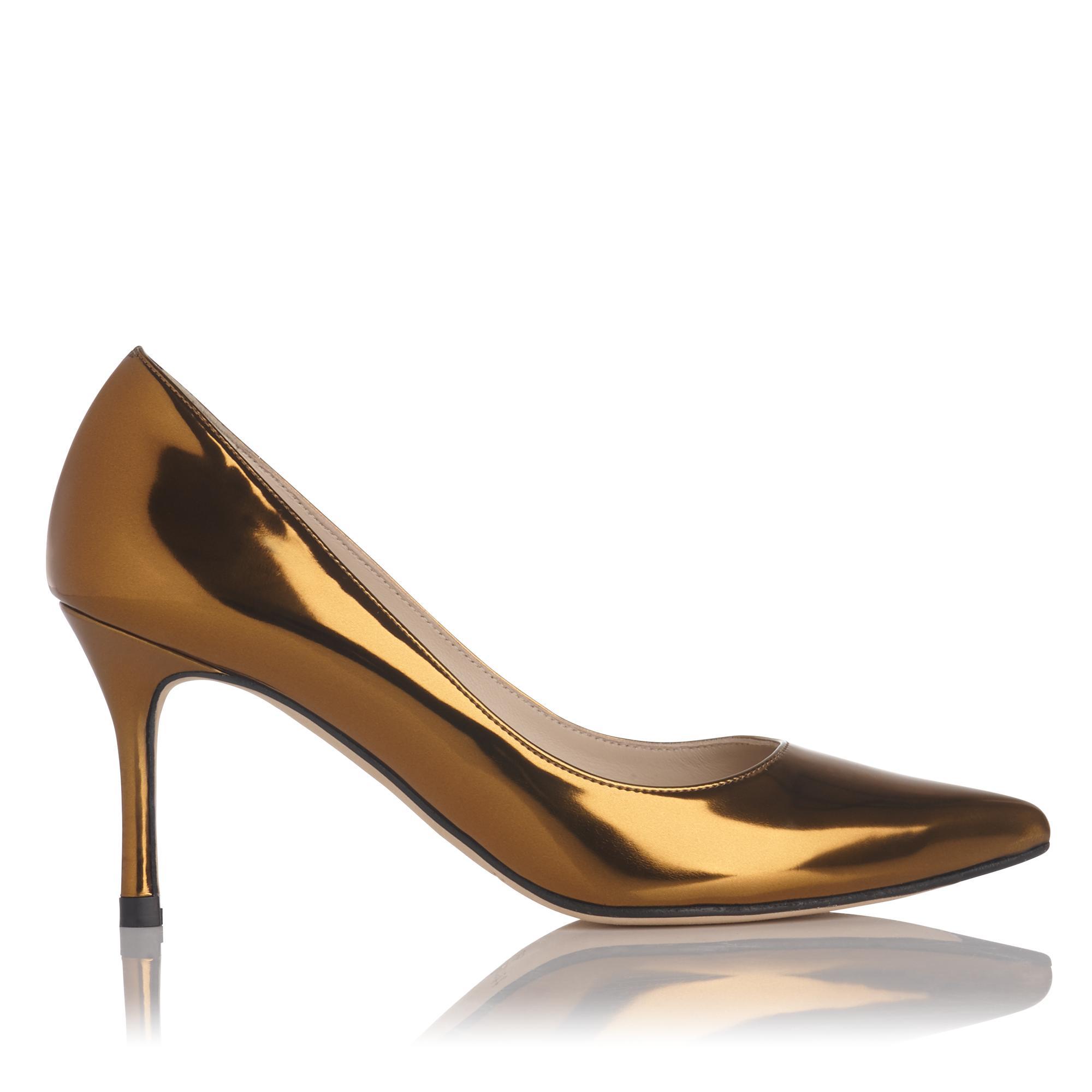 Bianca Metallic Heel
