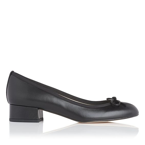 Danielle Black Block Heel