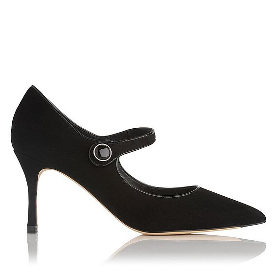 Monica Black Mary Jane Heel