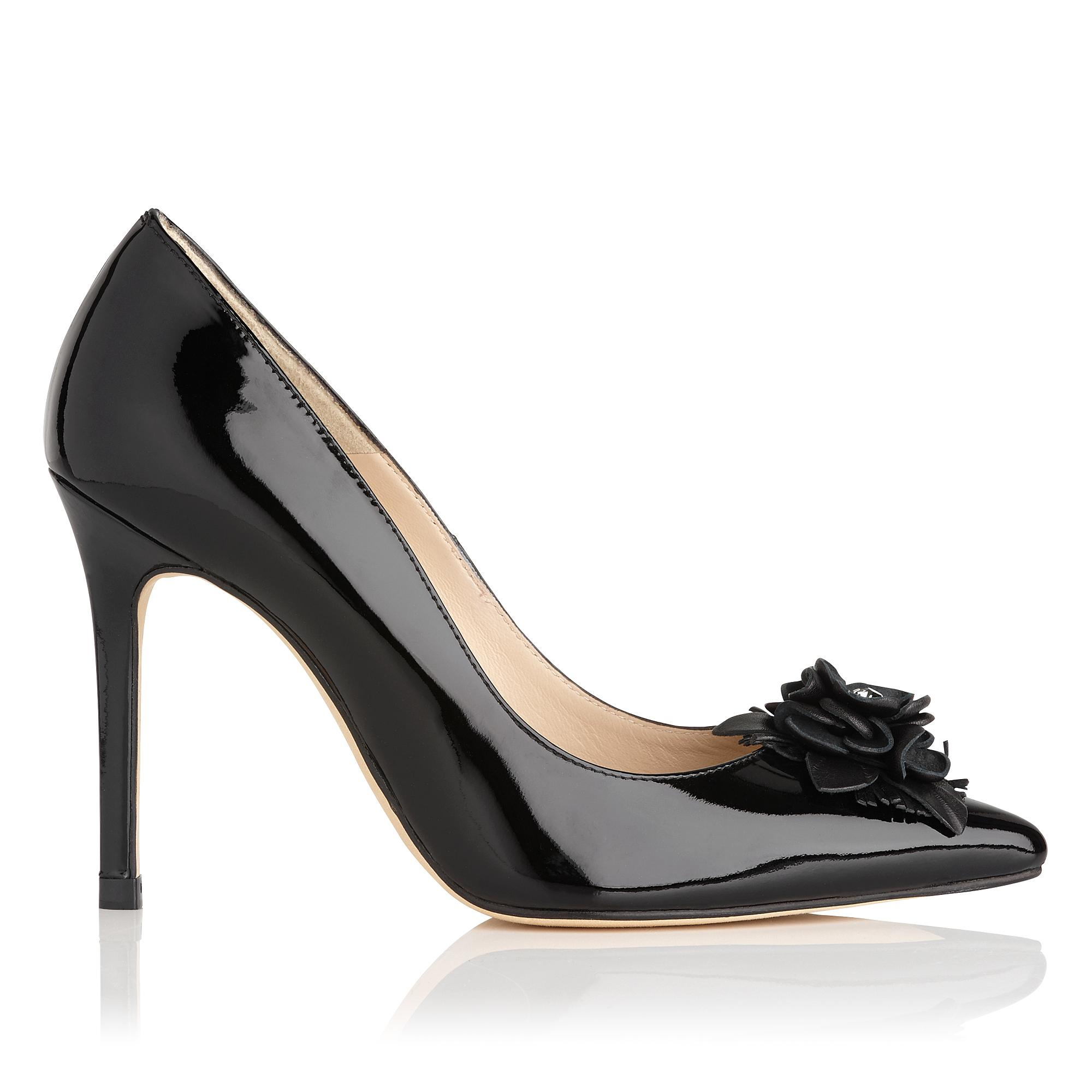 Phoebe Patent Leather Heels