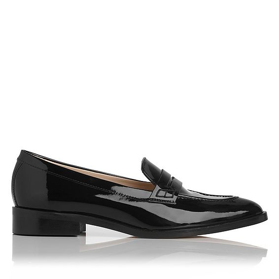 Iona Black Loafers