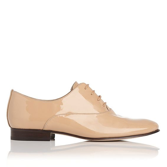 Isabelle Trench Patent Leather Oxford