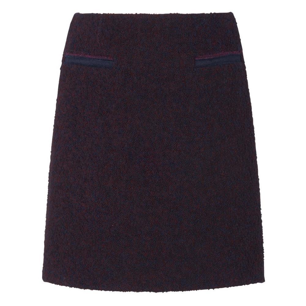 Astra Purple Tweed Skirt by L.K.Bennett