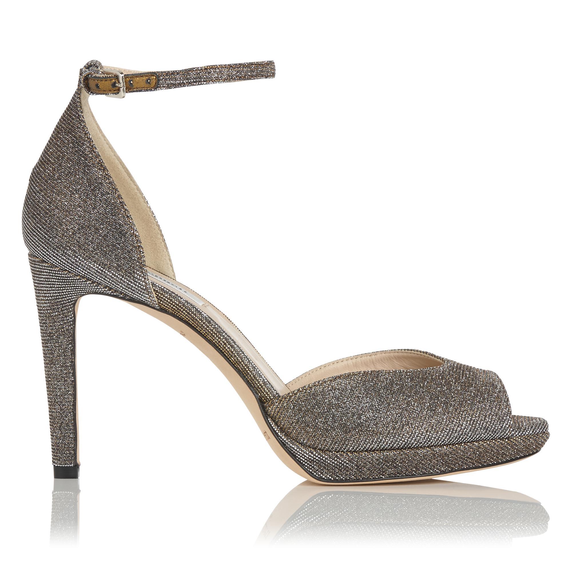 Yasmin Bronze Platform Sandal