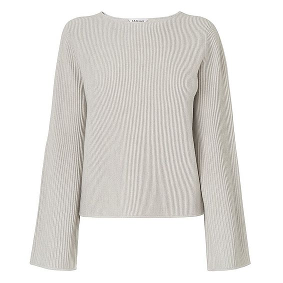 Lenny Grey Knit Top