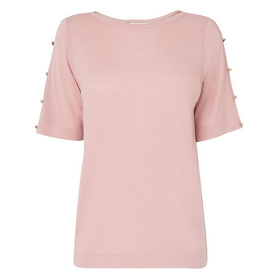 Moira Pink Knit Top