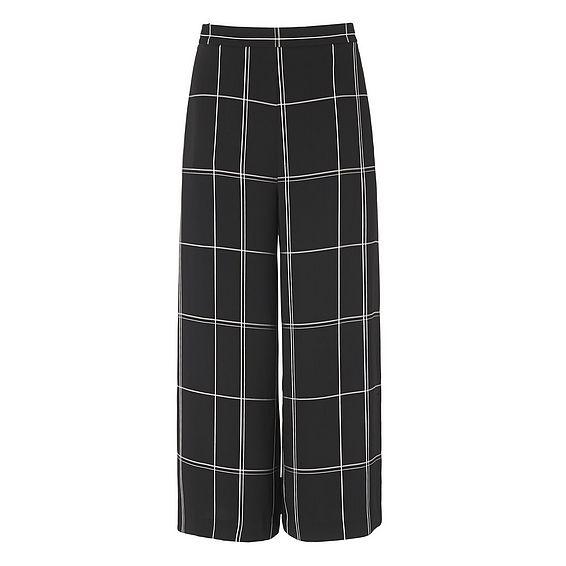 Dinah Black Window Pane Pants