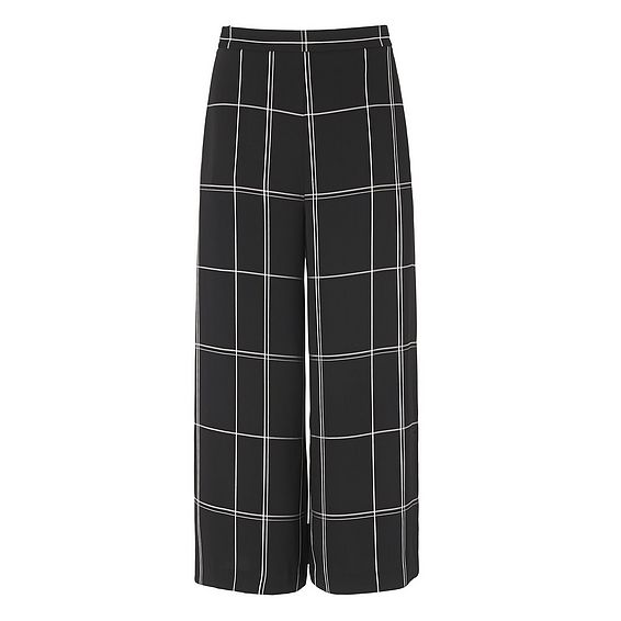 Dinah Window Pane Trousers