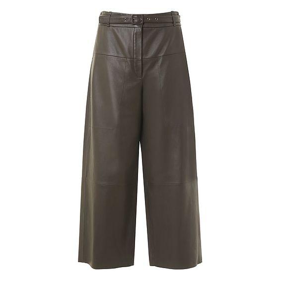 Lula Green Leather Pants