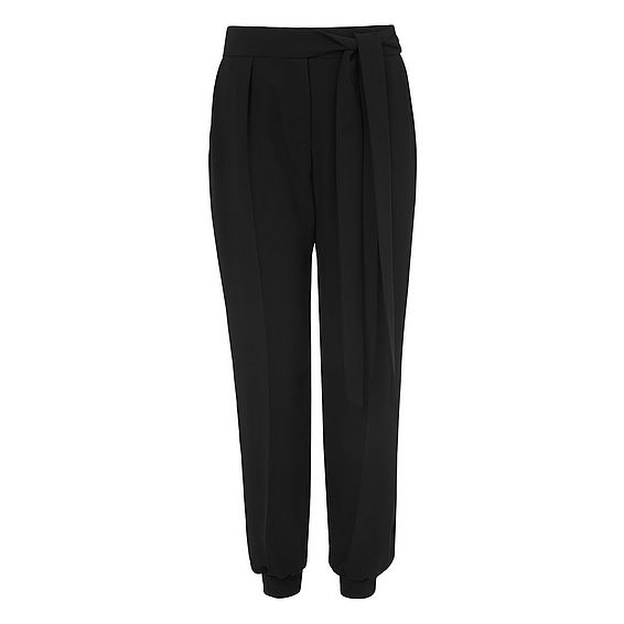 Silas Black Trousers