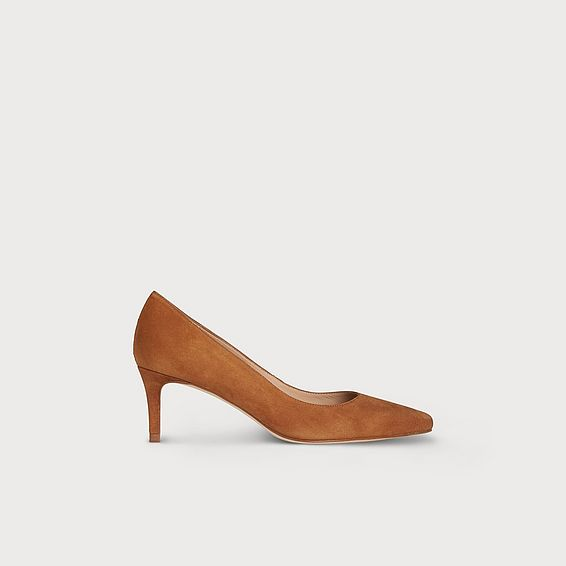 Elma Brown Suede Heel