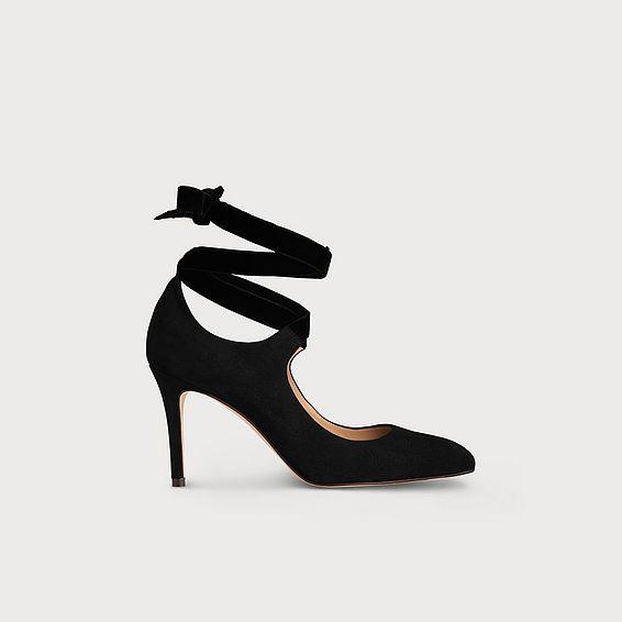 Mesha Black Heels
