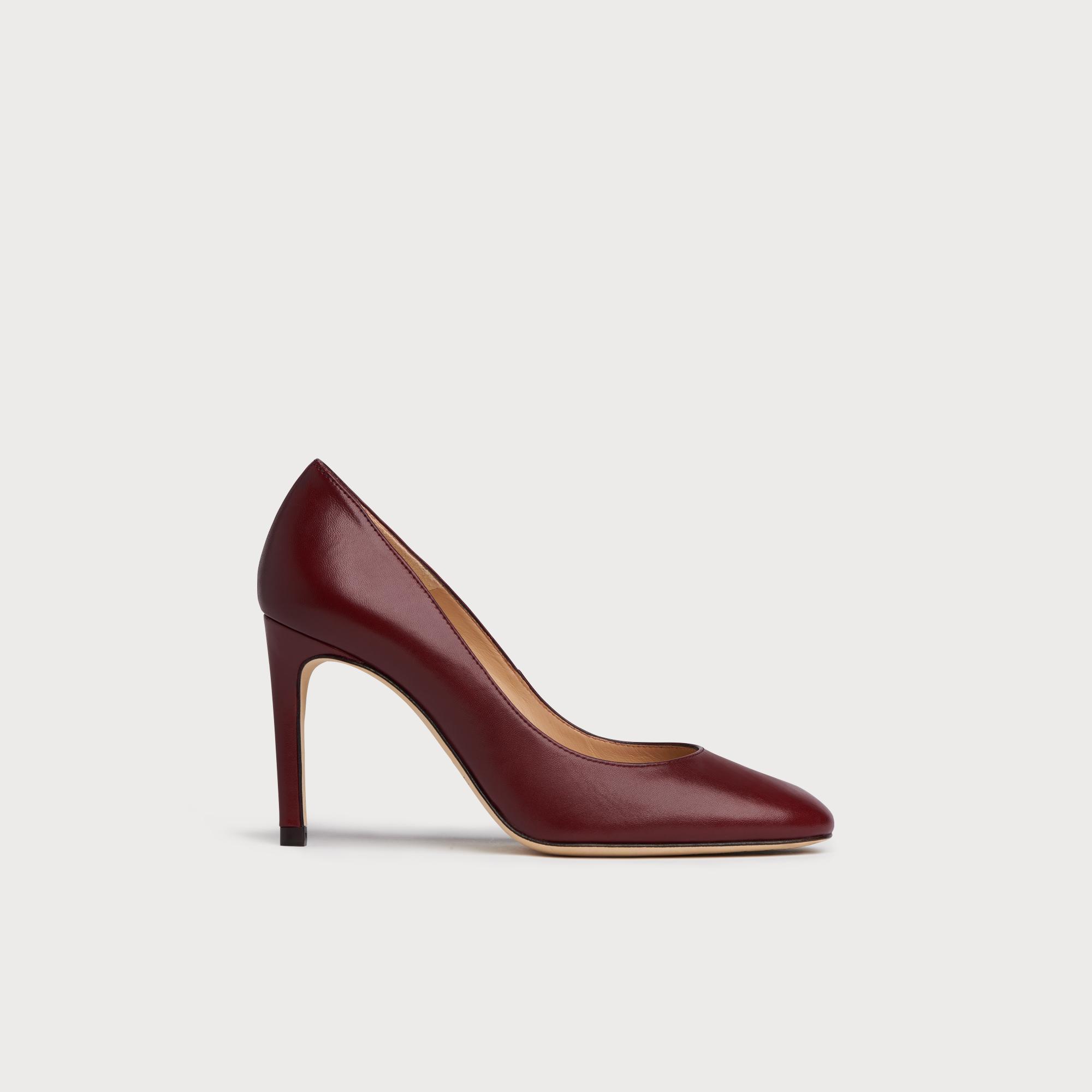9406efb52ec Nova Black Raspberry Heels