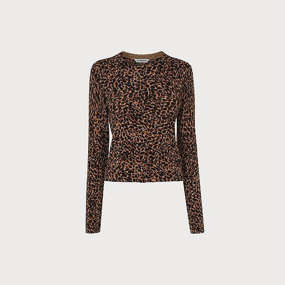Nestie Animal Wool Cardigan