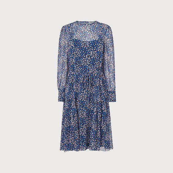 Alisa Blue Dress