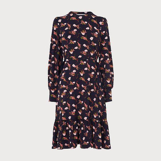 Carina Printed Jersey Dress