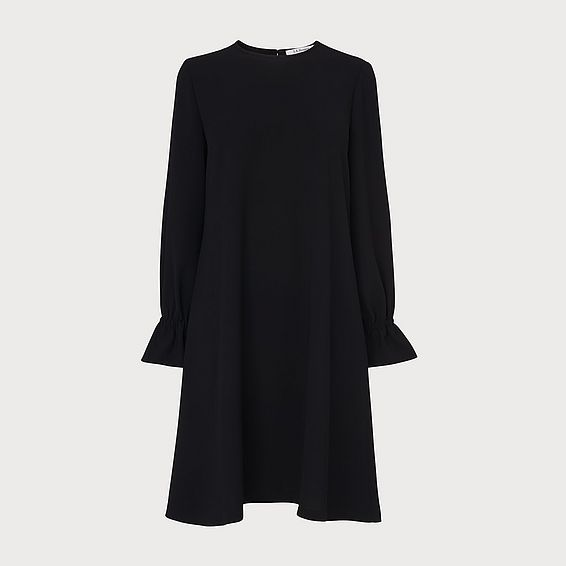 Darlie Black Frill Dress