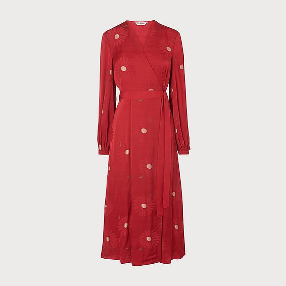 Elspeth Red Dress