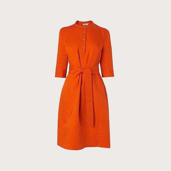 Launa Orange Dress