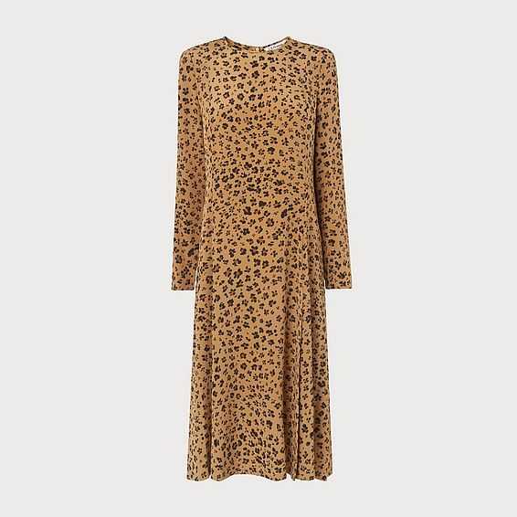 Leanie Animal Print Dress