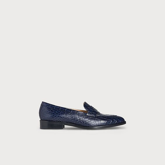 Iona Navy Loafers